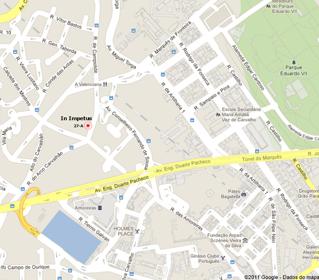 mapa de campolide Localização | IN IMPETUS mapa de campolide